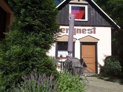 """Photo for Holiday house """"Bergnest"""", 1 bedroom - mountain nest"""