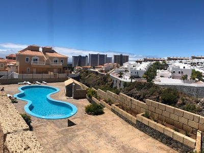 Photo for Festival House, 3 big bedrooms, big lounge for relaxing, pool and sea view