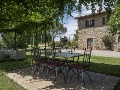 Photo for Stunning Tuscan farmhouse in perfect location near Val D'orca with private pool.