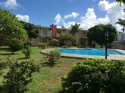 Photo for RESIDENCE LES CYGNES 2 IN PEREYBERE ISLAND MAURITIUS ACCOMMODATION FOR 2/4/6 PEOPLE