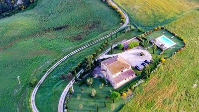 Photo for Montalcino,private villa with pool in Tuscany,stunning wiews!