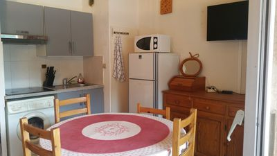 Photo for Residence Provençale Pool Parking WIFI 2 kms Sea Villeneuve Loubet 3 Rooms