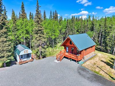 Photo for NEW! Sterling Cabin w/ Deck, Walk to Kenai River!