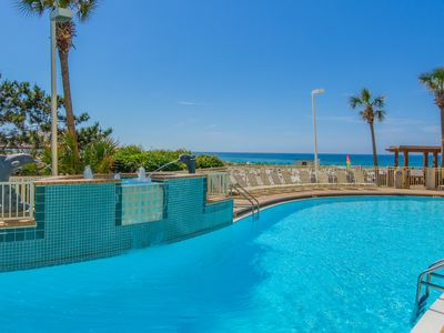 Photo for Amazing 3 BR Resort Condo in Destin with Great Views, 2 mins Boardwalk to Beach