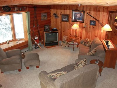 Photo for Deer Pass-Ski, Snowmobile During The Day Relax In The Hot Tub At Night!