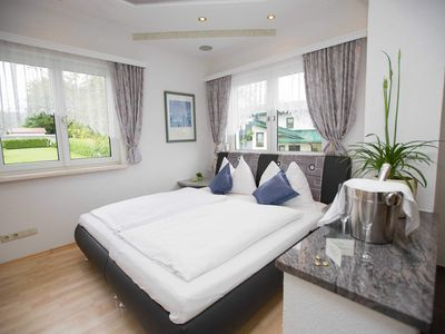 Photo for FEWO 1 de luxe with balcony * - Pension KNOLL am Attersee