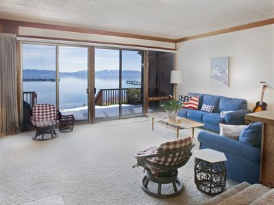 Photo for Tahoe Tavern - Beautiful lakefront 4 Bedroom
