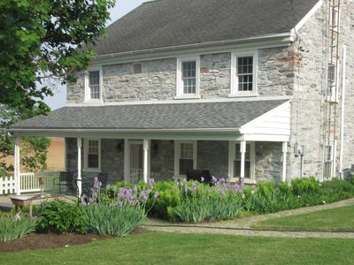 Photo for Experience life down on the farm in this 1790's farmhouse with modern amenities.