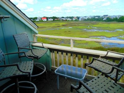 Photo for Amazing Sunrise AND Sunset views from this beautiful condo just short walk from Carolina Beach Pier.  Breath Taking Marsh Views - SEAWINDS UNIT B12