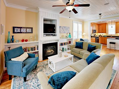 Living Room - Welcome to Lincoln City! This home is professionally managed by TurnKey Vacation Rentals.