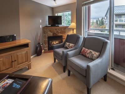 Photo for Great Village Location at Whistler Town Plaza - Beautiful Condo in Perfect Location - Deer Lodge (Unit 244)