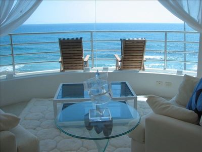 """Photo for Cool, Dreamy Oceanfront Villa... """"Cristal""""  Famously Beautiful"""