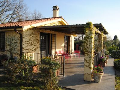 Photo for Relaxing cottage With Pool Near Rome, Quiet And Silent Location.