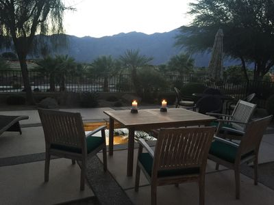 Photo for New Home In Desert Princess CC with Spectacular Mtn Views and Inground Spa