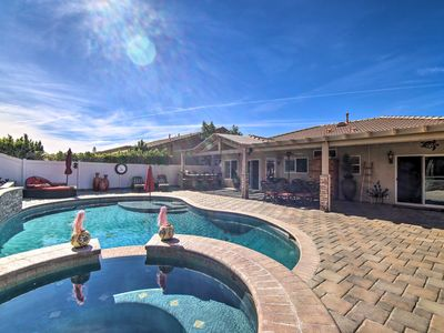 Photo for NEW! Luxury Desert Hot Springs Home On Golf Course