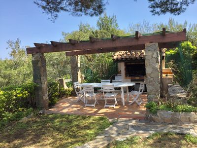 Photo for Villa with superb sea view, direct access to the beach, garden 1500 m²