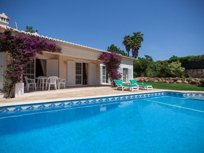 Photo for Stunning villa with private pool on quiet family resort with many facilities