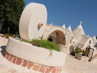 Photo for Panoramic Trulli - special offer, period: 25/7 to 3/8/2019