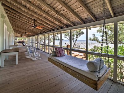 Photo for NEW! Waterfront Perdido Beach House w/Screen Porch