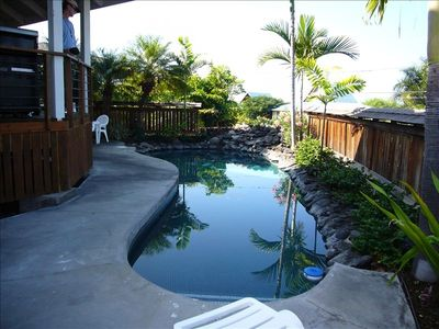 Our pool is a great place to cool down and relax. Kids can enjoy the shallow end