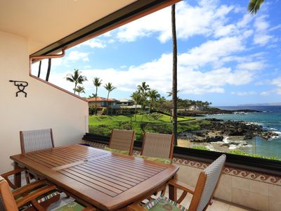 Photo for Gorgeous Ocean Front Condo Starting @ 599.00/nt - Makena Surf Resort G-206