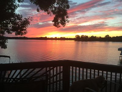 Photo for Beautiful Lake home on Morrison Lake; Coldwaters North Chain of Lakes.