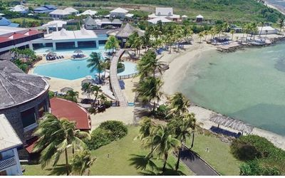 Photo for Beach Hotel Suite, Sea view, furnished studio ,Queen size bed+ Sofa bed, garden.