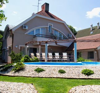 Photo for Holiday house with pool only 100 m from the beach