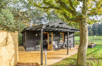 Photo for Deep in the Sussex countryside The Garden Lodge at Broadacres, an open plan lodge near Lewes.