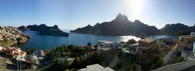 Panoramic photo from the house.