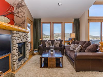 Photo for Views! Beautiful Luxury Mountain View Mammoth Condo w/wifi