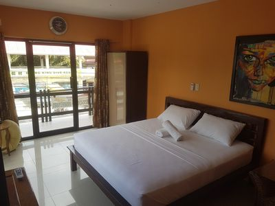 Photo for New Room for 2! 5min walk to Alona Beach and Nightlife