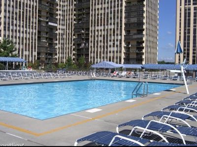 Photo for LUX APT POOL & PARKING 15 MINUTES TO NYC
