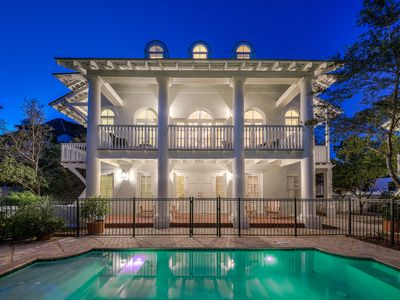 Photo for Sloane's Cottage - Heated Pool, Southside Rosemary Beach, Free Bikes