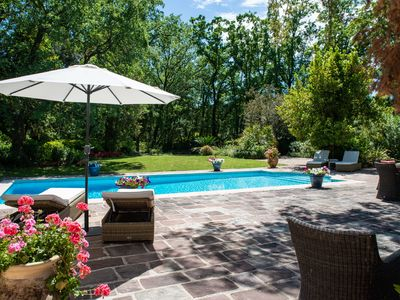 Photo for Exceptional Villa in the heart of a private domain with pool of 8150 m2