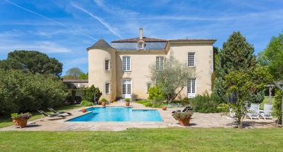 Photo for Chateau De La Soie - Country house for 12 people in Fontet