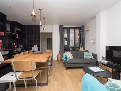 Photo for CHEMIN VERT LOFT 1 - Superb Loft for 10 (4 rooms) - BASTILLE - MARAIS