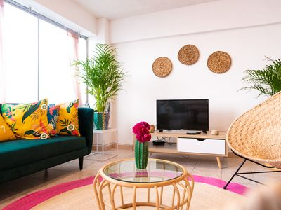 Photo for TROPICAL · Mexican Beach Vibes ☼ 4BR ☼ Condesa -> Amsterdam