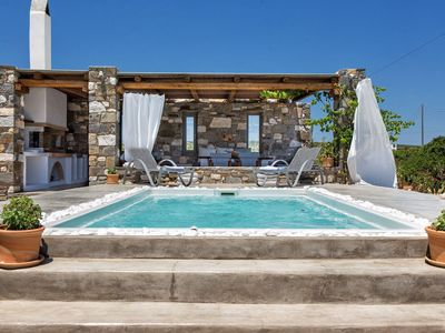 Photo for Sea Land Villa Paros 4br upto 9guests Private Pool
