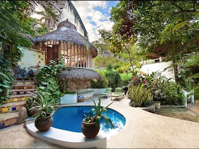 Photo for Secluded Tropical Paradise with Pool
