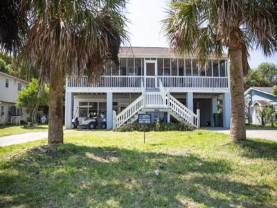 Photo for Cute Beach Home close to the beach! Come Relax on the large Screened Porch!