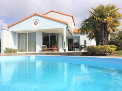 Photo for Luxury villa in '' Les Jardins du Chateau d'Olonne '' near the sea