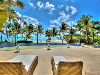 Photo for Villa Las Hamacas, luxury 6 bedroom villa in Cap Cana resort. Book now for best rates andoffers