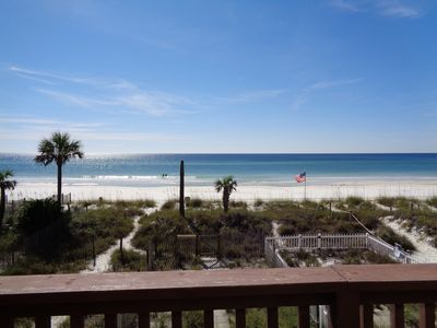 Photo for Avoid the Crowds! Beachfront 3BR/3.5BA Townhome, Sleeps 10