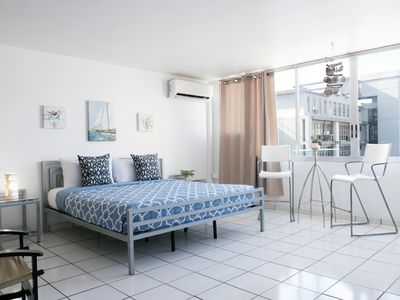 Photo for Ocean Views, King Size Bed Studio with Parking