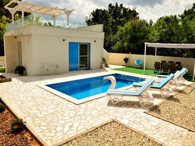 Photo for Villa Anna with pool and seview, Zadar county