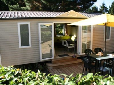 Photo for Camping Le Domaine D'inly ***** - Mobilhome for 6 People