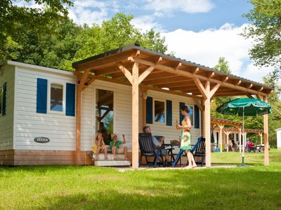 Photo for 4-person mobile home in the holiday park Landal Hochwald - in the mountains/rolling countryside