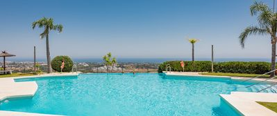 Photo for 2 bedroom apartment with terrace and sea views