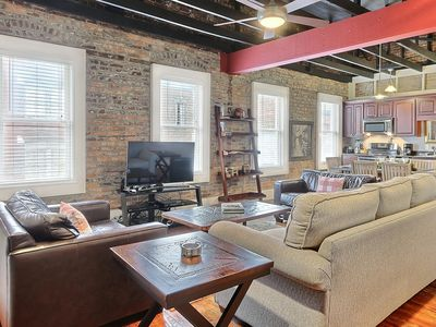 """Photo for Rest Well with Southern Belle Vacation Rentals at """"Ellis Square Loft"""""""